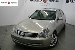 2004 Infiniti G35 4dr Sdn AWD Auto w-Leather