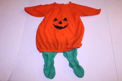 Infant/Baby Pumpkin 6/9 Months Outfit Costume (Orange) Lil Pretenders - Baby Pumpkin Costume 6 9 Months