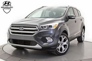 2017 Ford Escape Titanium TOIT OUVRANT GPS PARK ASSIST CUIR