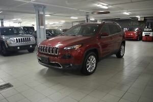 2016 Jeep Cherokee LIMITED 4X4 *CUIR/NAV/CAMERA RECUL*