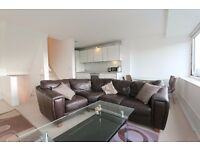 4th floor two bedroom flat in Aragon Tower, SE8 3AH, 24hr porter, river views, 2 equal size bedroom