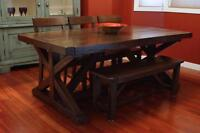 Locally Crafted: Reclaimed Wood Dining Table $1995 & more! LIKEN
