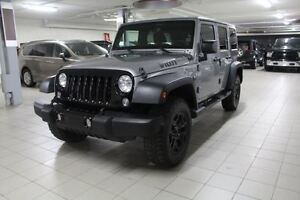 2014 Jeep WRANGLER UNLIMITED WILLYS 4X4 *2TOITS*