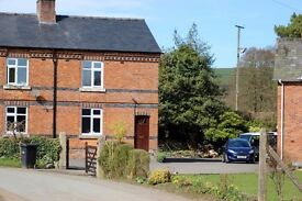 Lovely refurbished cottage for rent in Powys