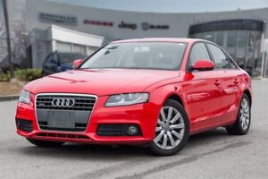 2010 Audi A4 2.0T, 6 SPEED, LEATHER