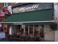 Waiting Staff Vacancies in Italian Restaurant, Waterloo