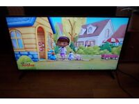 """50"""" LG LED SLIM TV LIKE NEW ONLY A FEW MONTH OLD FREEVIEW,REMOTE,STAND"""