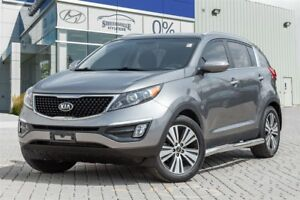 2015 Kia Sportage EX Luxury AWD Leather Panoramic roof Navi Allo