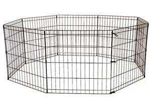 NEW 48 IN TALL DOG PLAY PEN CRATE FENCE 8 PANAL PP48 DOG RUN PET RUN RABBIT CAGE AS LOW AS $59.95 EA