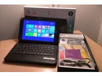 """As New Linx 8 - 8"""" Windows 8.1 Tablet, Wifi, Bluetooth, Front/Rear Camera, HDMI- with Keyboard/Case!"""