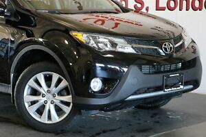 2015 Toyota RAV4 LOADED SINGLE OWNER LIMITED LEATHER & NAVIGATIO London Ontario image 10