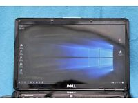 Dell 1545 laptop, win10, 150gbhdd, 3gb ram, charger, fully operational, **bargain**