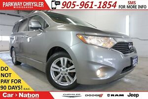 2012 Nissan Quest SL| DVD| LEATHER| POWER DOORS & TAILGATE & MOR