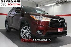 2016 Toyota Highlander XLE AWD Heated Lthr Nav Sunroof Btooth BU
