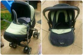 Silver cross 3D complete travel system