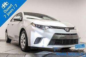 2015 Toyota Corolla LE *RÉSERVÉ* caméra, bancs chauff.