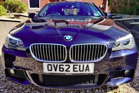 image for BMW 520d M Sport, blue, FSH, 84800miles