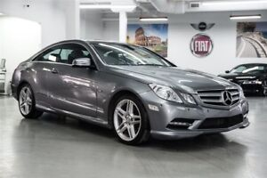 2012 Mercedes-Benz E350 SPORT Coupe LOADED Nav + Pano