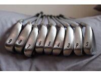 Full Set Mizuno MX17 Golf Clubs plus bag and trolley