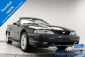 1996 Ford Mustang GT **LIQUIDATION** DÉCAPOTABLE, CUIR