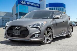2014 Hyundai Veloster Turbo, MANUAL, LEATHER, ROOF