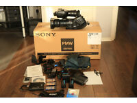 SONY PMW EX3 HD DIGITAL CAMERA BOXED AND COMPLETE IN AMAZING CONDITION WITH EXTRAS PLUS WIDE ANGLE