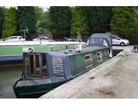 REDUCED PRICE- 40FT CANAL BOAT HOME FOR SALE - LONDON
