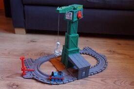 Thomas Take and Play Cranky at the Docks