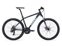Giant ATX 27.5 Mountain bike, barely used