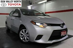 2014 Toyota Corolla LE Btooth BU Camera Heated Front Seats Pwr W