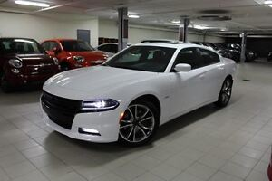 2015 Dodge Charger R/T ROAD&TRACK *HEMI/SUEDE ROUGE/NAV/TOIT*