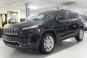 2016 Jeep Cherokee LIMITED 4X4 *CUIR/TOIT/GPS/CAMERA*
