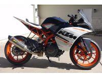 KTM RC 390 Motorbike Akrapovic Exhaust