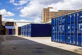 20' SEA CONTAINERS FOR RENT!!! SELF STORAGE *CANARY WHARF*ISLE OF DOGS*DOCKLANDS*