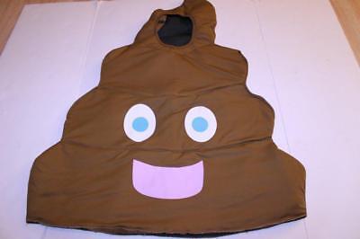Youth Poop Emoji OSFM Halloween Costume