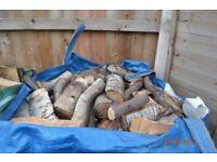 Seasoned Split Firewood Logs for Stoves, Open Fires, Firepit, Chimineas