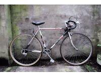 RALEIGH WINNER, 21 inch small size, vintage racer racing road bike, 5 speed