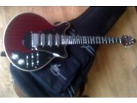 Brian May signature red special guitar