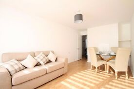Large apartment in a gated development and located within a few minutes of tube and DLR stations