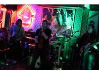 Live Rock Covers Band Available