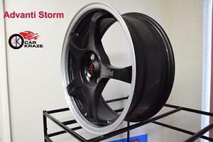 17 INCH Only 4 Bolt 4x100 Advinti Racing On Sale At Car Kraze 905 463 2038