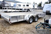 2015 Quality Steel Open Trailer