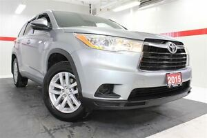 2015 Toyota Highlander LE AWD Btooth BU Camera Cruise Alloys Pwr