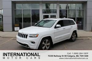 2014 Jeep Grand Cherokee OVERLAND DIESEL! RARE! LOW KMS! LOADED!