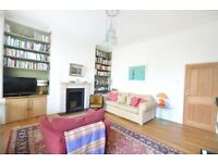 **BRIGHT & SPACIOUS** 3 DOUBLE BEDROOM split level with SOUTH FACING terrace, fireplace, wood floor