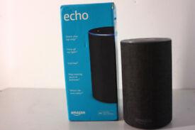 Amazon Echo (2nd Generation) Smart Assistant - Charcoal still under warranty