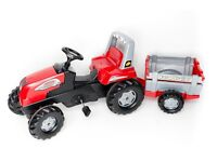 Rolly Junior RT Tractor Farm Trailer Ride-On