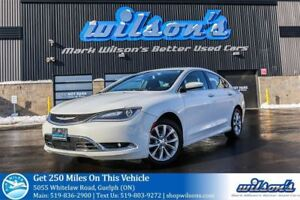 2015 Chrysler 200 C LEATHER! PANO SUNROOF! HEATED STEERING+SEATS