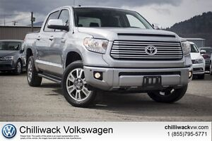 2016 Toyota Tundra Platinum+Tow Package/Single Owner/No Accident