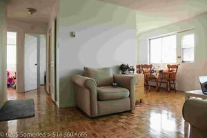 2 large bedrooms with balcony-NDG